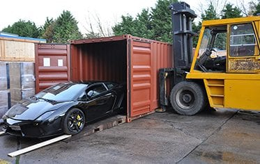 Shipping Lamborghini Gallardo to Ghana